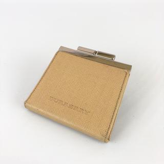 バーバリー(BURBERRY)の正規品 BURBERRY バーバリー レザー がま口 コインケース JR4-21(コインケース)