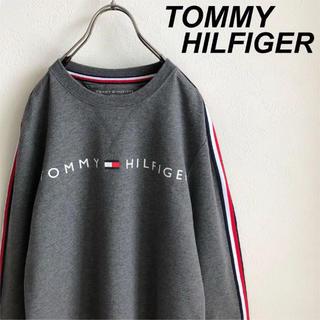 トミーヒルフィガー(TOMMY HILFIGER)の美品 トミーヒルフィガー スウェット(スウェット)