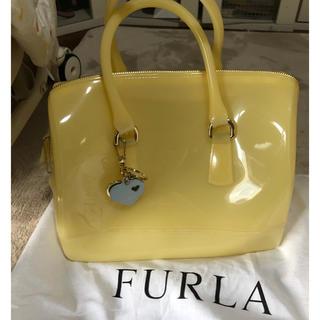 b3e14ec8e8f8 フルラ(Furla)のフルラ キャンディバック 黄色 チャーム付き(ハンドバッグ)