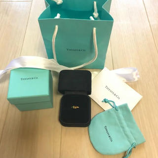 ティファニー(Tiffany & Co.)のティファニー Tiffany Tリング ワイヤーリング(リング(指輪))