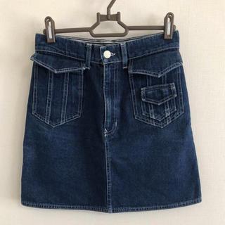 フェンディ(FENDI)のFENDIのデニムスカート(ミニスカート)