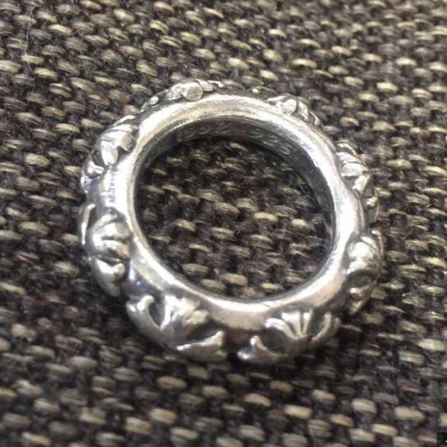Chrome Hearts(クロムハーツ)の値下げしました!正規品 クロムハーツ 8ダイヤ 純正 クロスバンドリング メンズのアクセサリー(リング(指輪))の商品写真