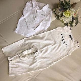 セオリー(theory)の♪セオリー♪オールインワンとシャツ2枚で 90(ニット)