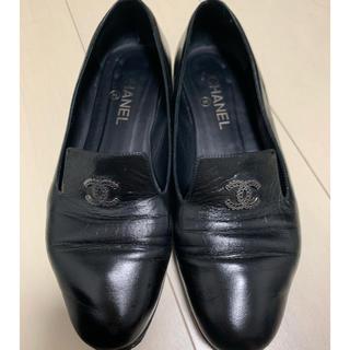 シャネル(CHANEL)のCHANEL オペラシューズ(ローファー/革靴)