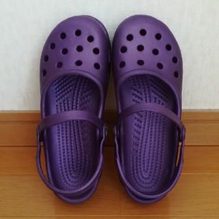 クロックス(crocs)のクロックス  メリージェーン  サンダル  21cm(サンダル)