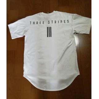 アディダス(adidas)のしゃんくす様専用adidasバックロゴプリントT 白XL 未使用タグ付き(Tシャツ/カットソー(半袖/袖なし))