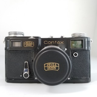 Contax II型 Carl Zeiss Jena Sonnar 5cm/f2(フィルムカメラ)