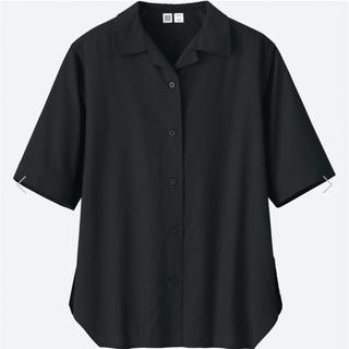 UNIQLO - UNIQLOU ユニクロユー オープンカラーシャツ