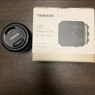 タムロン(TAMRON)のtamron 85mm f1.8 for Canon(レンズ(単焦点))