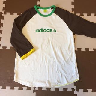 アディダス(adidas)の新品 アディダス 7部袖 シャツ L(Tシャツ/カットソー(七分/長袖))