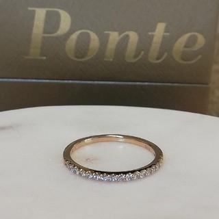 PonteVecchio - ポンテヴェキオ K18PG  ハーフエタニティリング 9号size