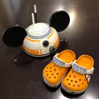 ディズニー(Disney)のスターウォーズ BB-8 クロックス  Disney限定キャップ(キャップ)