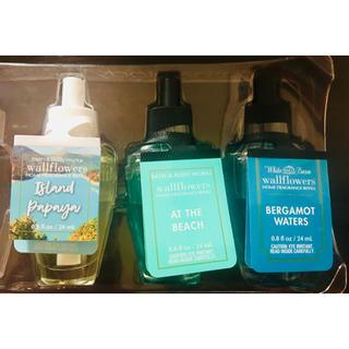 バスアンドボディーワークス(Bath & Body Works)の3点 bath&body works wallflower ルームフラグランス(アロマポット/アロマランプ/芳香器)