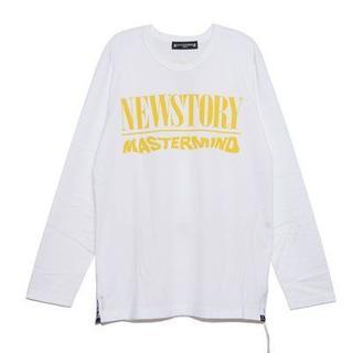 マスターマインドジャパン(mastermind JAPAN)の新品正規品 master mind JAPAN「NEWSTORY」ロングTシャツ(Tシャツ/カットソー(七分/長袖))