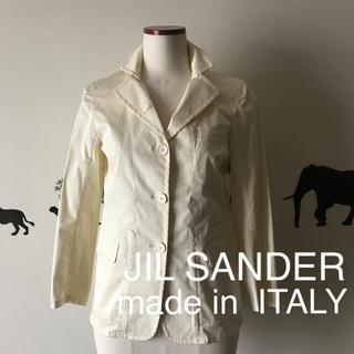 ジルサンダー(Jil Sander)のJIL SANDER made in ITALY ストレッチ入 ジャケット(テーラードジャケット)