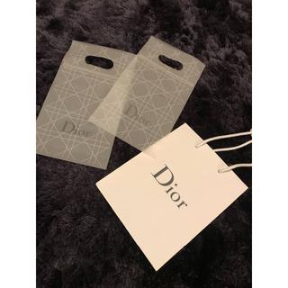 ディオール(Dior)のDior ショッパー ショップ袋 3枚セット 美品(その他)