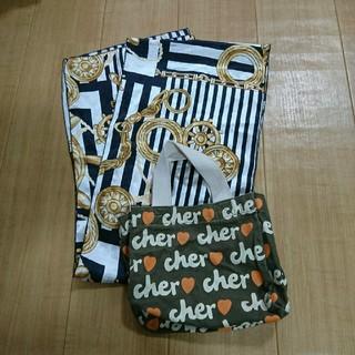 シェル(Cher)のスカーフ&ミニトート(トートバッグ)
