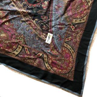 35f7229857dc イヴサンローランボーテ(Yves Saint Laurent Beaute)のイヴ サンローラン 大判スカーフ