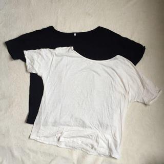 ムジルシリョウヒン(MUJI (無印良品))のTシャツ2枚セット/無印(Tシャツ(半袖/袖なし))