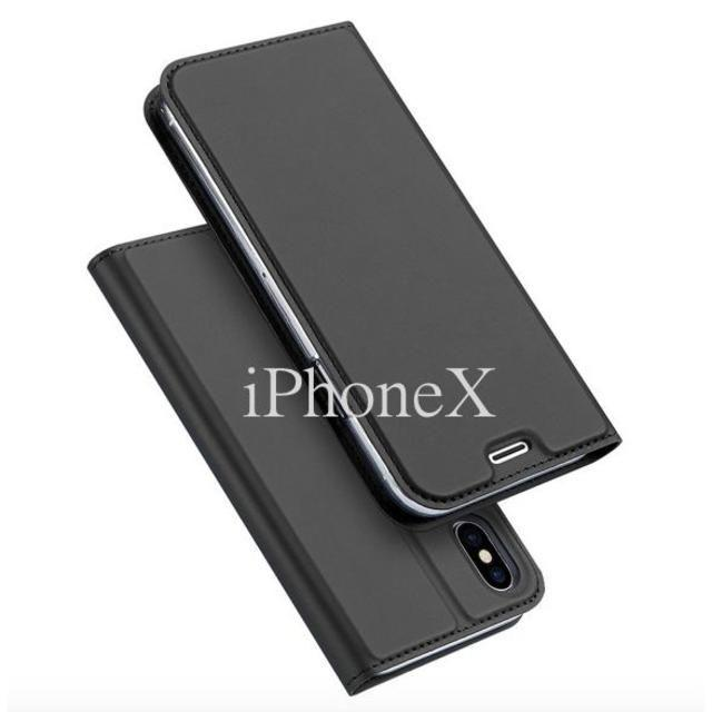 iPhoneX/XS/XRケース 手帳型 耐衝撃 ブラック他の通販 by スマホケースショップ American|ラクマ
