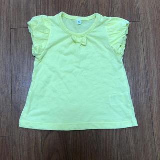 シマムラ(しまむら)の黄色リボンTシャツ 80㎝(Tシャツ)