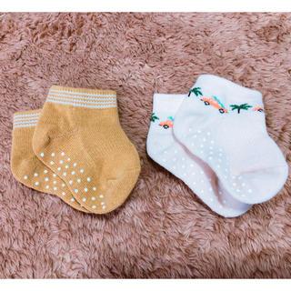 ユニクロ(UNIQLO)の新品未使用 新生児 靴下(靴下/タイツ)