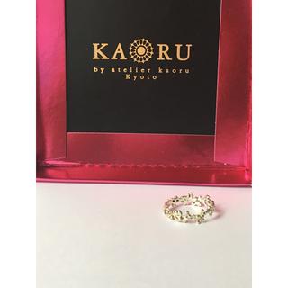 カオル(KAORU)のKaoru  カオル ボタニカルリング K10グリーンゴールド(リング(指輪))