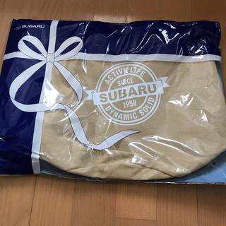 スバル(スバル)のスバル SUBARU バケツ型トートバッグ 新品未開封 非売品(トートバッグ)