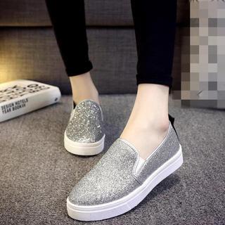 ★♪激安&ファッションデザインの靴&履き心地&学生スタイル キラキラスニーカー(スニーカー)