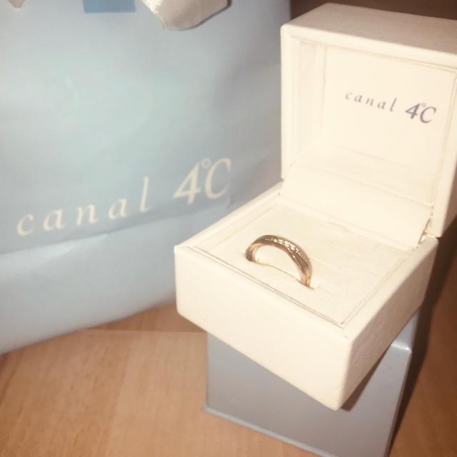 canal4℃(カナルヨンドシー)の専用ページです レディースのアクセサリー(リング(指輪))の商品写真