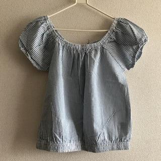 シマムラ(しまむら)の新品L サッカショートオフショル(カットソー(半袖/袖なし))