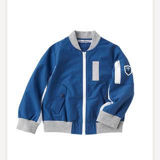 ファミリア(familiar)のファミリア ブルゾン 上着 80 青 羽織(ジャケット/コート)