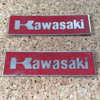 カワサキ(カワサキ)のカワサキ ステッカー2枚(ステッカー)