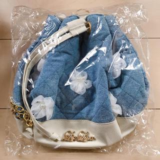 リズリサ(LIZ LISA)のデニム巾着バッグリュック(リュック/バックパック)
