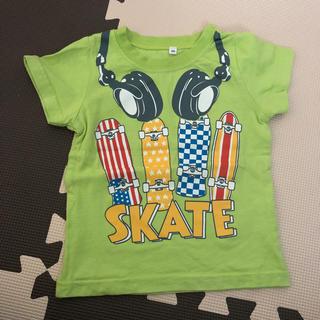 シマムラ(しまむら)のスケボー柄 Tシャツ 90㎝(Tシャツ/カットソー)