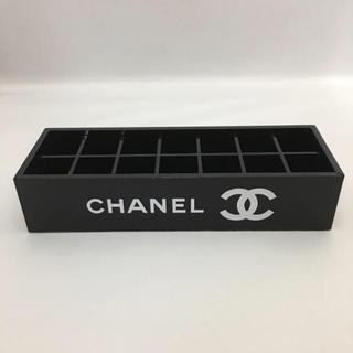 シャネル(CHANEL)の新品 CHANEL コスメアクリルケース 非売品プレゼント用ラッピング済み(小物入れ)