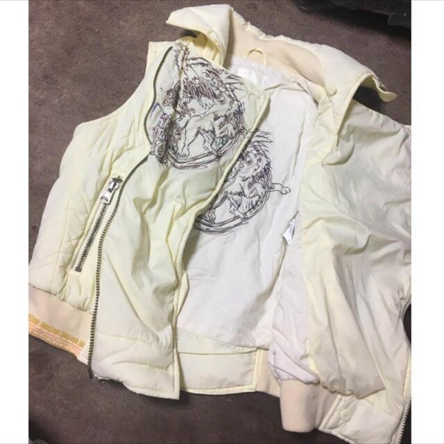 DIESEL(ディーゼル)のDIESEL ライダース風 ベスト レディースのジャケット/アウター(ライダースジャケット)の商品写真