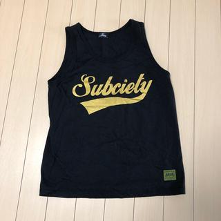 サブサエティ(Subciety)のsubciety タンクトップ(Tシャツ/カットソー(半袖/袖なし))
