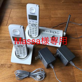 パナソニック(Panasonic)のPanasonic コードレス電話機+子機(OA機器)