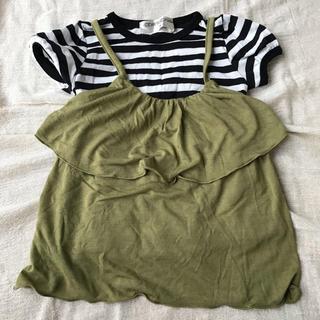 シマムラ(しまむら)のしまむら購入・キャミソール&Tシャツセット(Tシャツ/カットソー)
