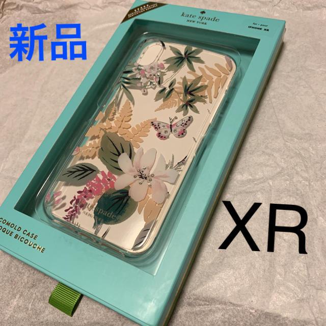 kate spade new york - 新品 ケイトスペード iPhoneXR XR ケース アイフォンケース 花 草の通販 by コアラ's shop |ケイトスペードニューヨークならラクマ