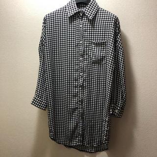 ホッピン(HOTPING)のhotping トゥルトゥルなシャツカーディガン(シャツ/ブラウス(長袖/七分))