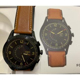 フォッシル(FOSSIL)の【値下げ】スマートウォッチ (FOSSIL Q Activist )メンズ(腕時計(デジタル))