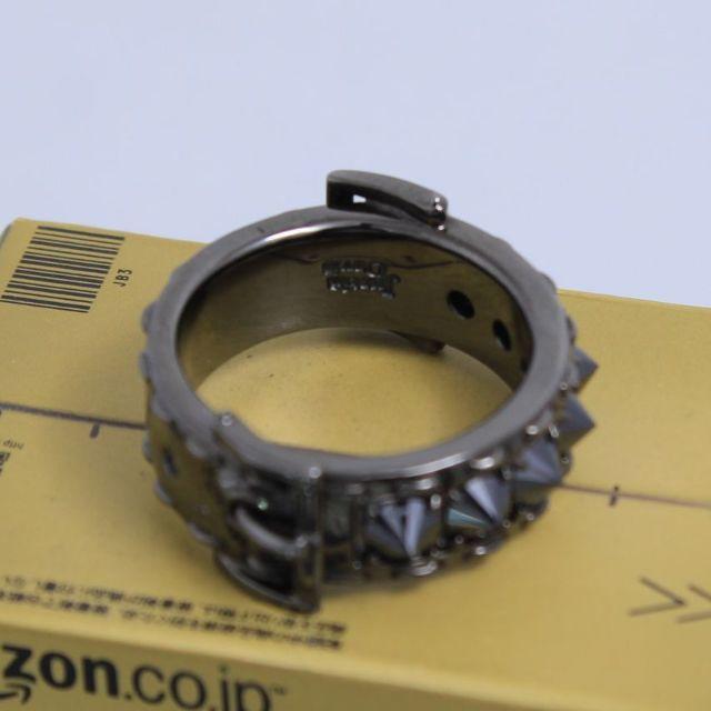 Justin Davis(ジャスティンデイビス)のジャスティンデイビス 9号 ベルトスタッズリング リベリオン レディースのアクセサリー(リング(指輪))の商品写真