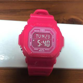 ベビージー(Baby-G)の【値下げ】Baby-G ピンク(腕時計)