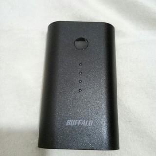バッファロー(Buffalo)のモバイルバッテリー6700mAh(バッテリー/充電器)
