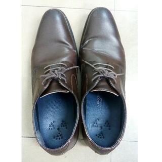 革靴 ビジネスシューズ 25.5(ドレス/ビジネス)