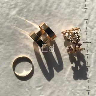 ローリーズファーム(LOWRYS FARM)のLeaf ring 3set No.38(リング(指輪))