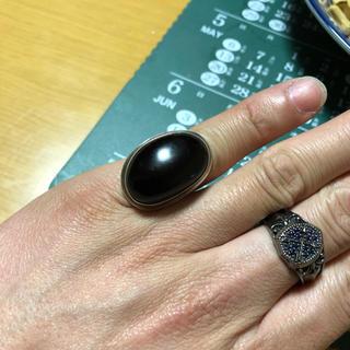 琥珀指輪(リング(指輪))