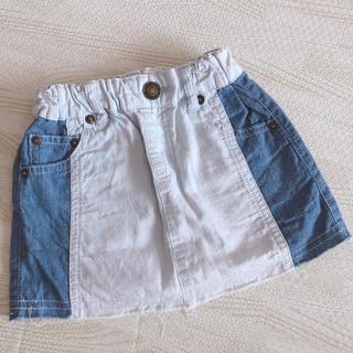 ブリーズ(BREEZE)のBREEZE デニムスカート 90(スカート)